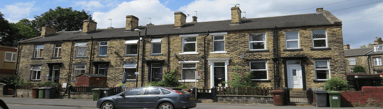 Residential terraced properties